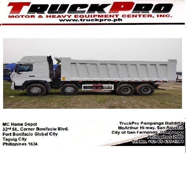 SINOTRUK HOWO A7 Dump Truck Brand New