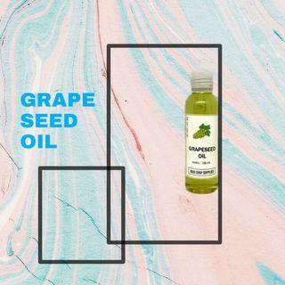 Grape seed face oil