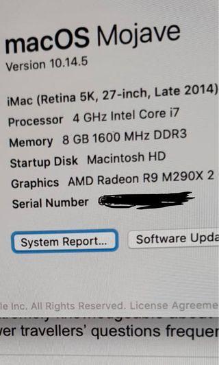 🚚 iMac 27 inch Retina 5k