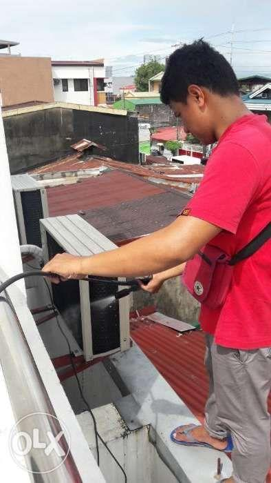 Home service aircon repair cleaning in quezon city caloocan malabon