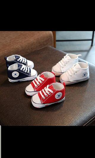 Blue sneakers shoes boy 12 - 18 months