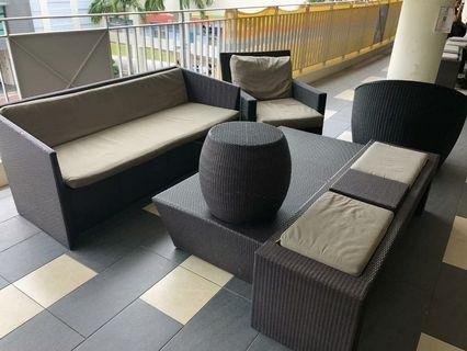 Outdoor Patio Balcony Furniture for sale @$80 each onwards