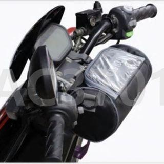Phone Holder and Saddle Bag for Motorcycle / eScooter / eBike