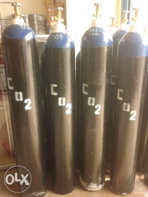 Rent Refill Carbon diozed co2 tank portable and standard size on