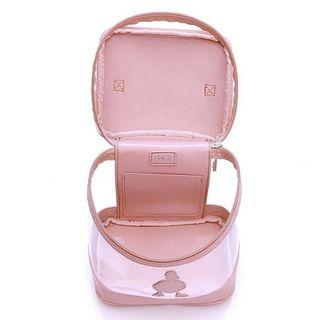 Duck Clear Vanity Bag in Peach