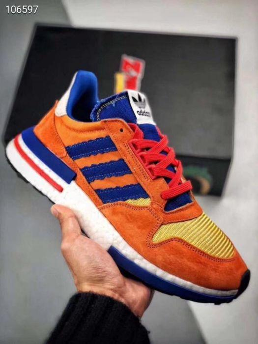 Adidas Adidas Zx 500 Dragon Ball Z Son Goku (us 7.5) | Grailed
