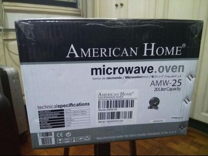 American Home Microwave Amw View All