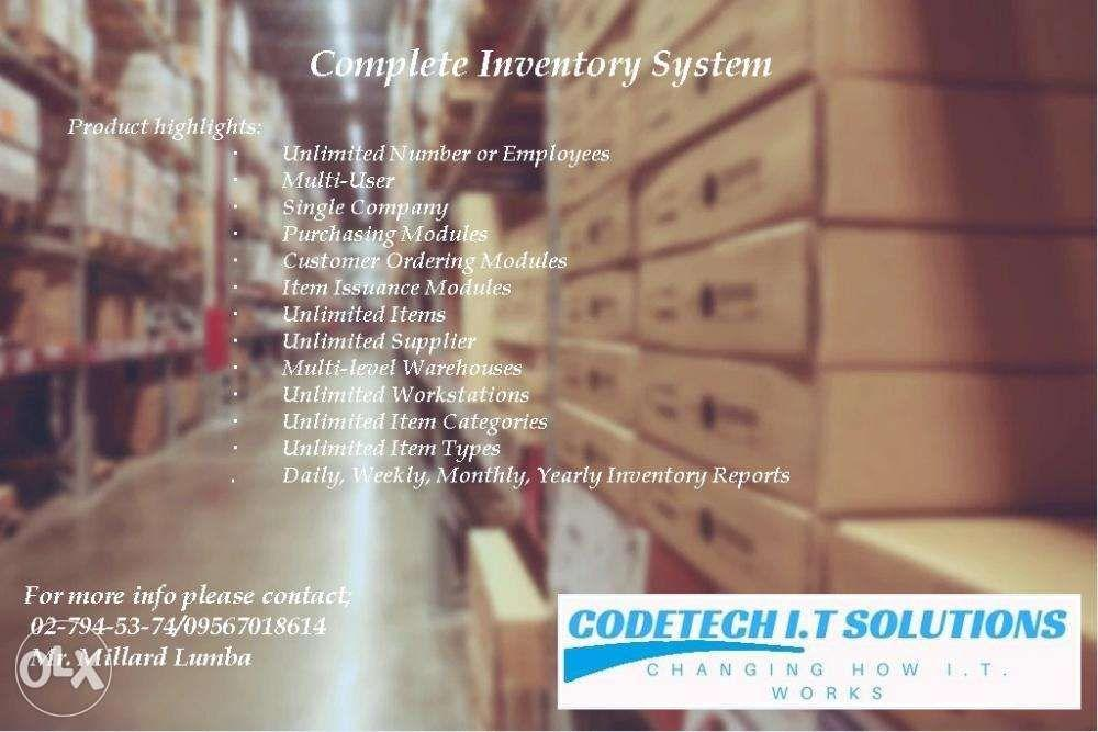 Inventory management system on Carousell