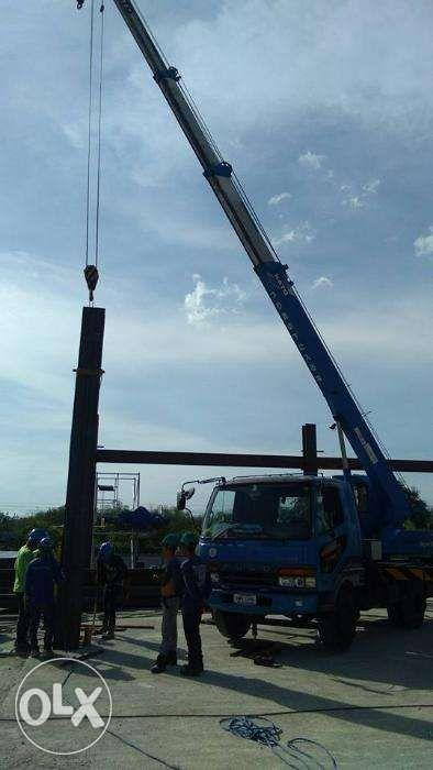 Crane Manlift Boom Truck Self Loader Telescopic Truck Mounted Scissor Lift for Rent