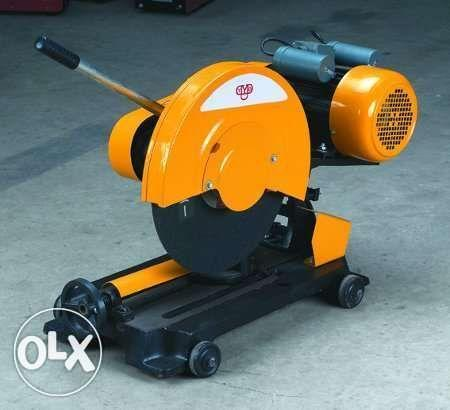 Cut off machine 16 inches belt driver silent type we deliver