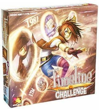 Timeline Challenge Board Game