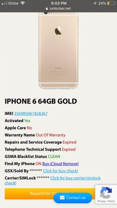 apple iPhone 6 on Carousell
