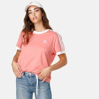 Adidas Originals 3 Stripes Tactile Rose Tee