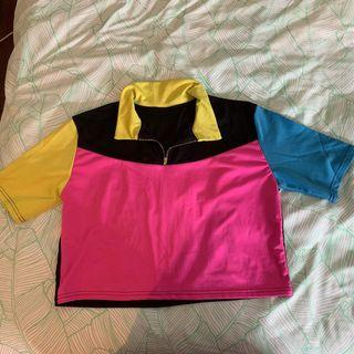 Colorful 90s top