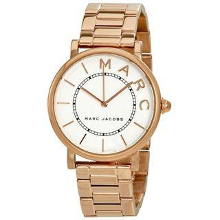 NEW Marc Jacobs Roxy Silver Dial Classic Rose Gold-tone Watch MJ3523