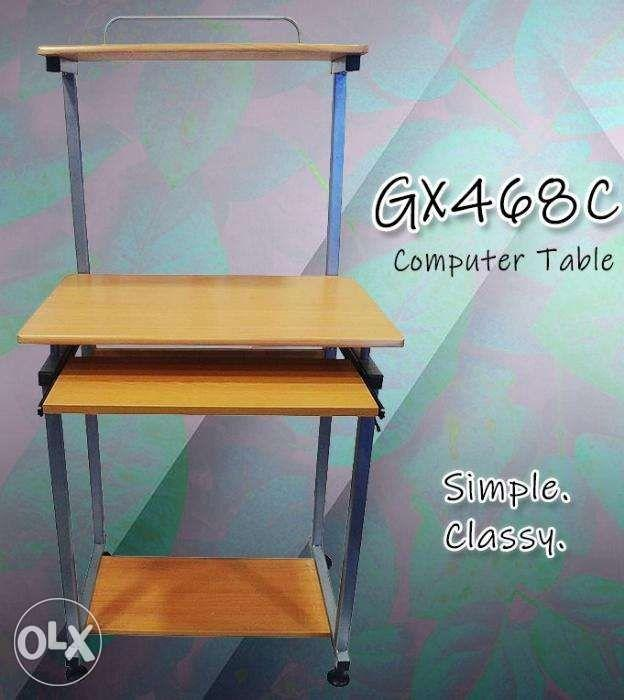 Where To Buy Good Quality Furniture: Bnew Wooden Computer Table GX468C_good Quality Buy Now