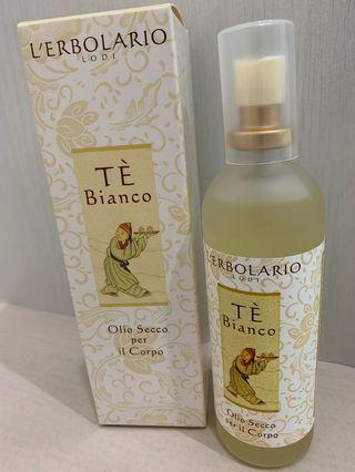 L'erbolario White Tea Dry Body Oil 100ml