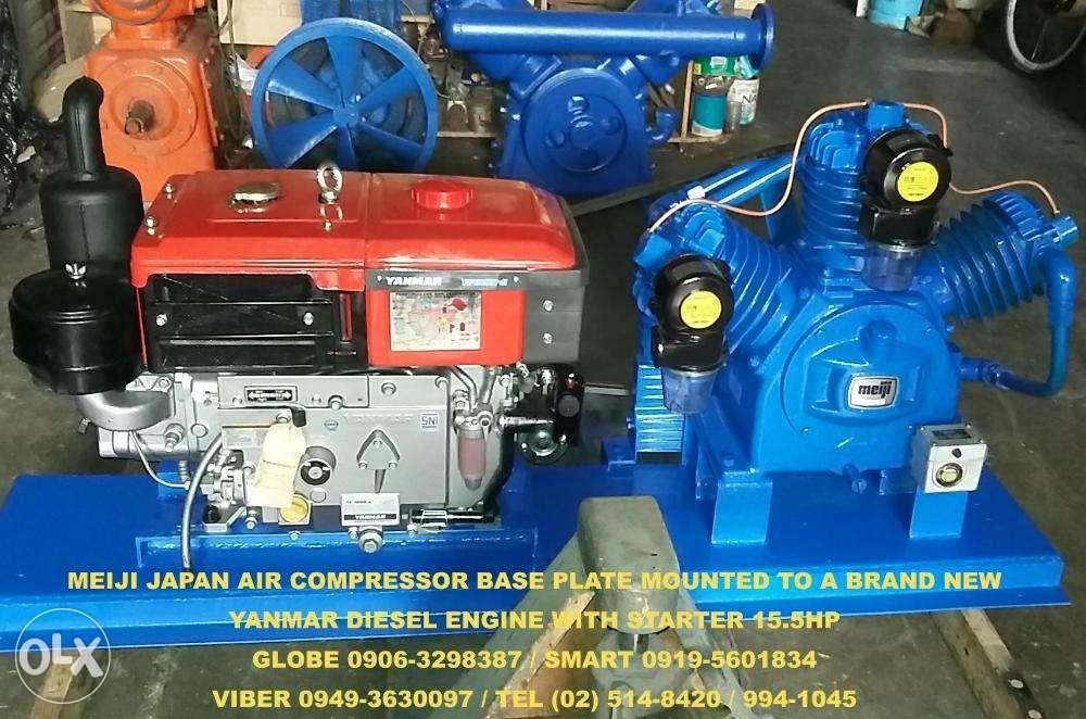 Meiji Japan Air Compressor Yanmar Engine on Carousell