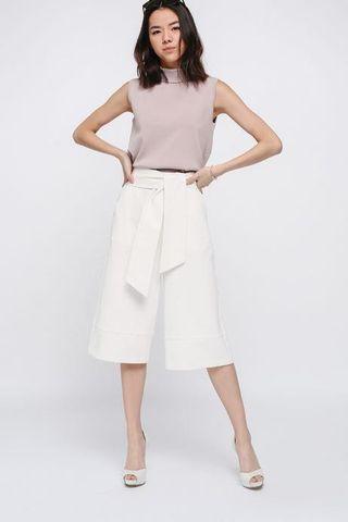 🚚 Love Bonito Charria Crossover Culottes white
