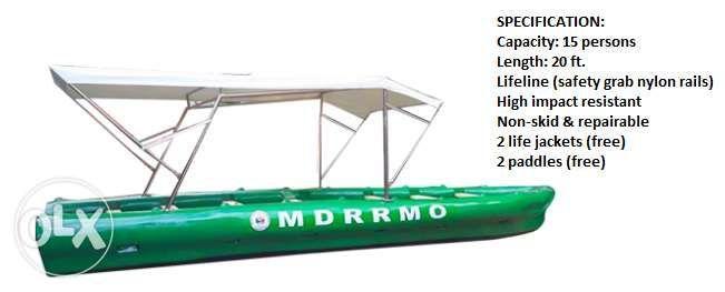Fiber Glass Rescue Boat