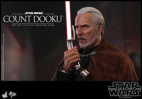 [IN STOCK] Hot Toys Count Dooku Star Wars