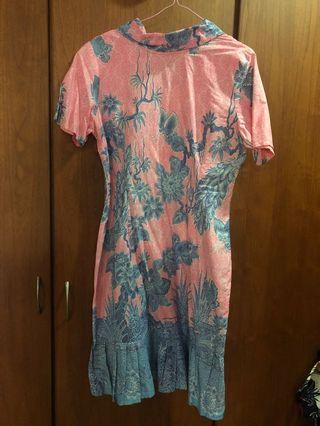 Dress batik atasan fashion wanita woman ladies lady
