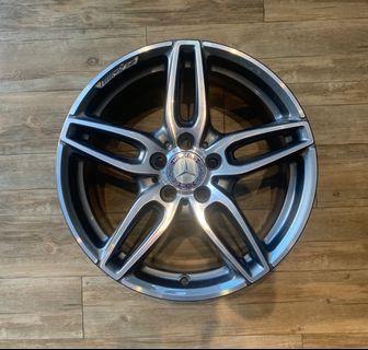 """Mercedes 18"""" Original AMG Rims"""