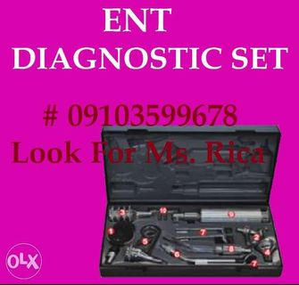 diagnostic set | Assistive Devices | Carousell Philippines
