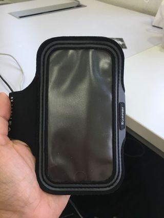 Armband with Velcro (fits iPhone 7, and similar size)
