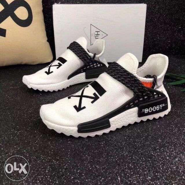Adidas NMD Human Race Off white 2019