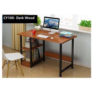 (CY100) Free delivery study table computer desk