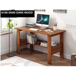(DK108) Free delivery study table with bookshelf