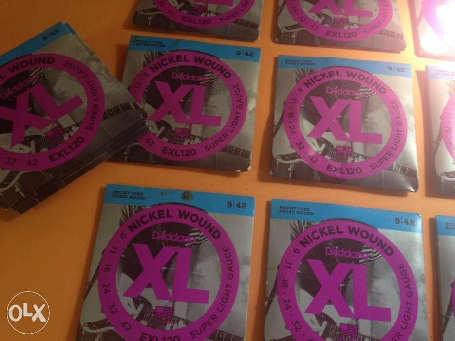 DAddario Electric Guitar Strings Set EXL120