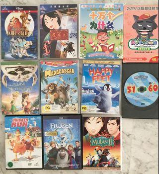 Kids' Chinese & English DVDs