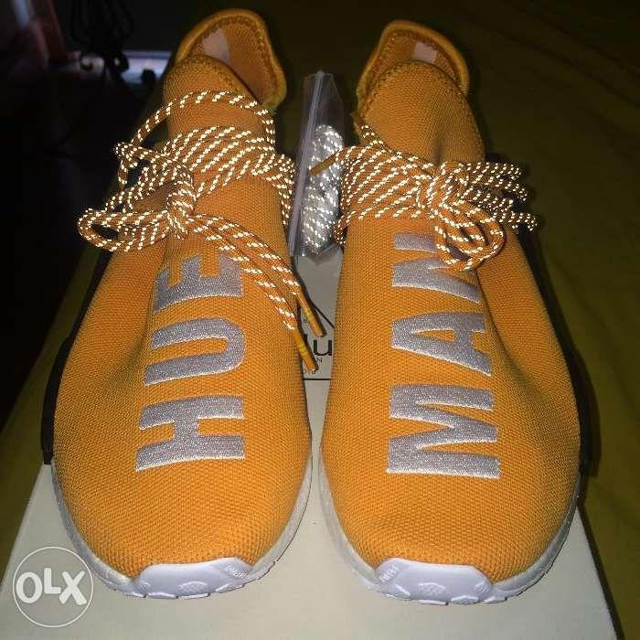 new product 55577 6177d Adidas NMD Pharrell Human Race Hue Man Tangerine BRAND NEW ...