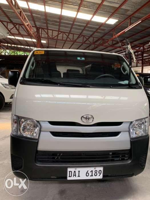 2019 Toyota Hiace Commuter Manual white on Carousell