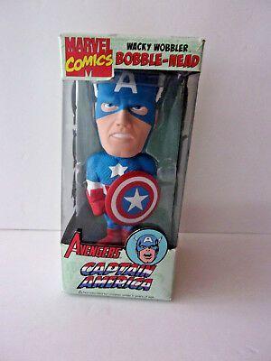 Captain America Wacky Wobbler Bobblehead by Funko