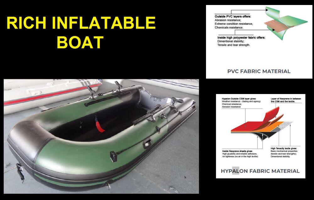 Rich inflatable boat on Carousell