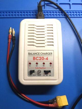 Balance Lipo Battery Charger (1-4S) with XT 60 cable