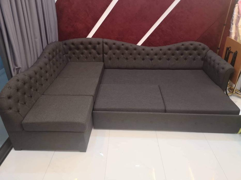 Lshape Sofa Bed Sala Set With Pull Out