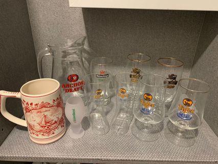 🚚 Glass Cup & Jug