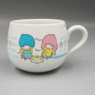 1976年 SANRIO LITTLE TWIN STARS 陶瓷杯