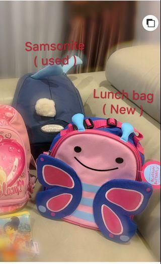 Kids Backpack & Lunch Bag