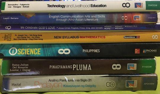 Grade 8 Books