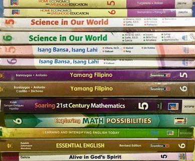 Grade 5 and 6 Books