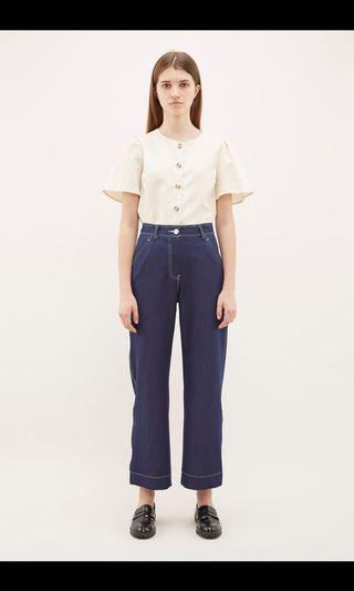 🚚 Looking for The Editors Market aslen top stitch pants