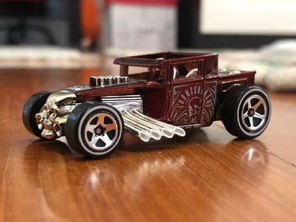 Hot Wheels Loose Bone Shaker Classic Red