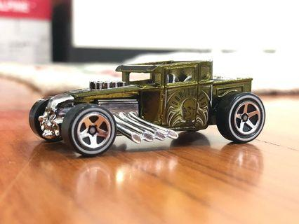 Hot Wheels Loose Bone Shaker Classic Green