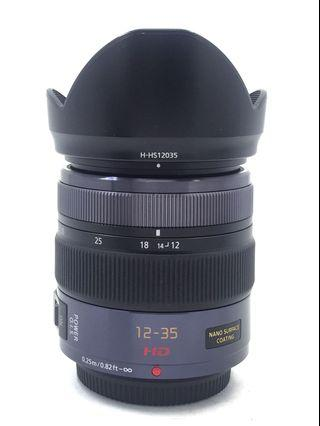 Panasonic 12-35mm F2.8