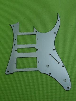 ibanez rg pickguard metal brushes finished